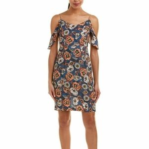 ASTR Cold Shoulder Floral Cami Dress